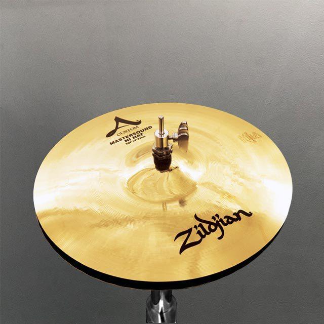 """Zildjian 13"""" A Custom Mastersound Hihats"""