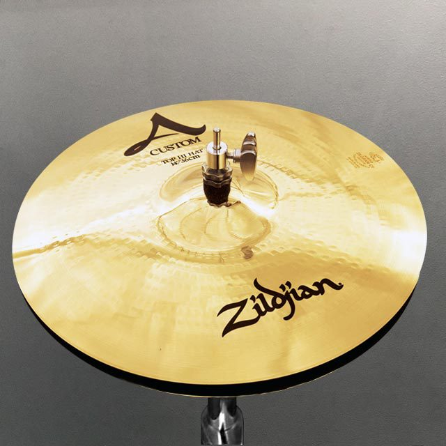 """Zildjian 14"""" A Custom Hihats"""