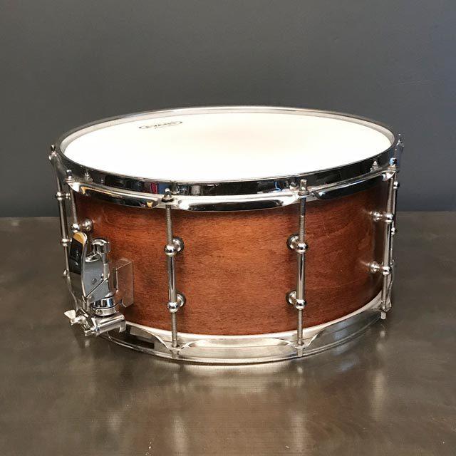 6.5 x 14 Custom Hand-Made Snare Drum