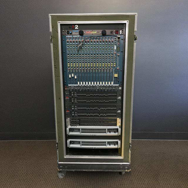 Amp and EQ rack